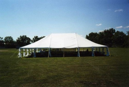 Details 40x60 Wedding Tent Rope and Pole (Stake Down Style Canopy.)Must be set up in grass or gravel on all 4 sides. & The Canopeum - Our Tents Cover Your Events!
